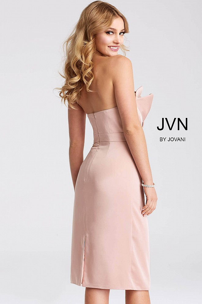 Strapless fitted cocktail dresses