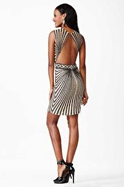 Black Sleeveless Short Dress JVN26777