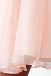 Pink Chiffon Short Dress JVN27600