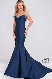 Off the Shoulder Mermaid Prom Dress JVN23455