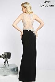 Sleeveless jersey long gown JVN92582