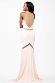 Pink Sleeveless Jersey Dress JVN25139