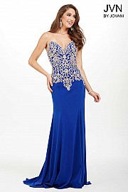 Royal Sweetheart Neckline Dress JVN33690