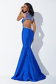 Royal Embellished Mermaid Dress JVN33914