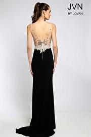 Black Form Fitting Dress JVN20246