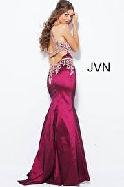 Navy Blue Taffeta Mermaid Bridesmaid Dress JVN41685