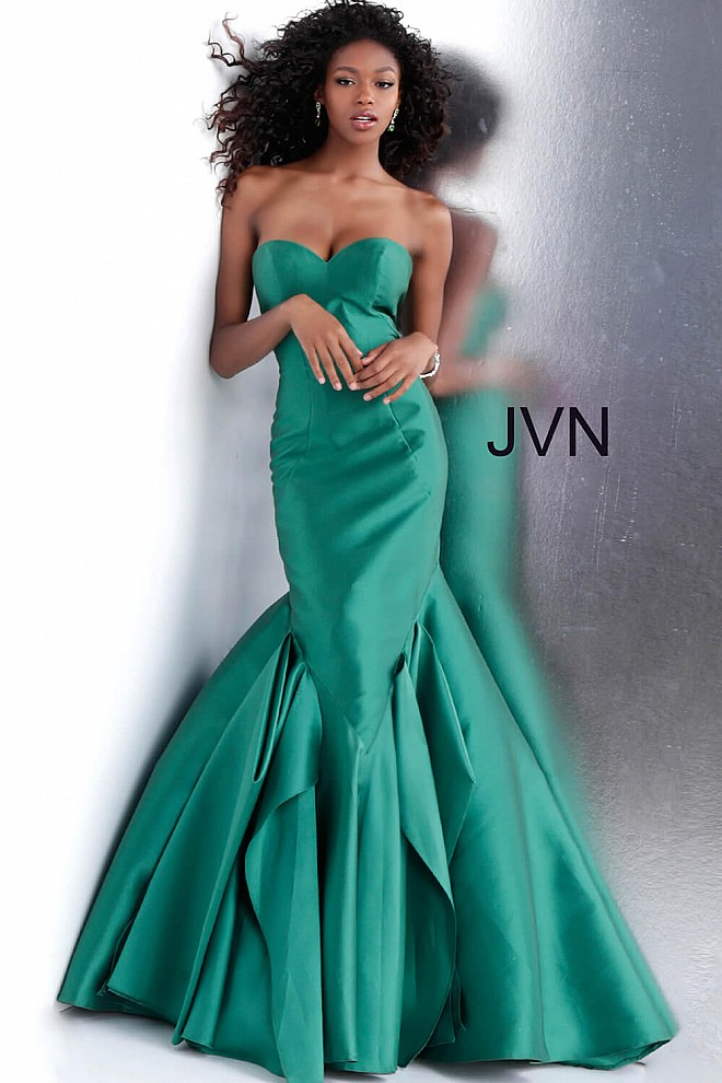 Hunter Strapless Sweetheart Neck Mermaid Prom Dress JVN59249