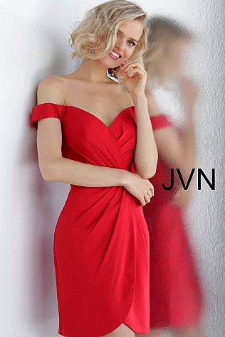 4cf16f01b9 Short Cocktail Dresses for Weddings   Parties - JVN by Jovani