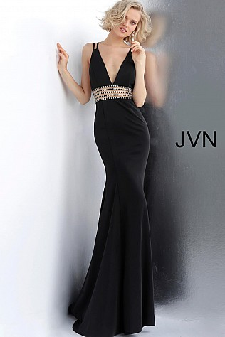 Dark-Gray Fitted Prom Dresses