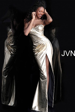 Gold Prom Gowns