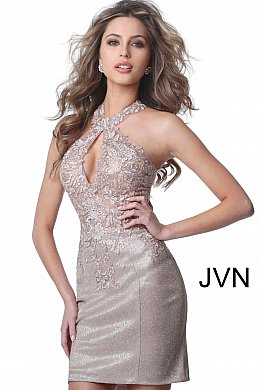 classic top fashion fashion styles Short Cocktail Dresses for Weddings & Parties - JVN by Jovani