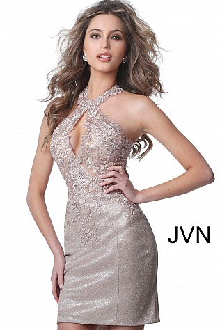 034e707403 Short Cocktail Dresses for Weddings   Parties - JVN by Jovani