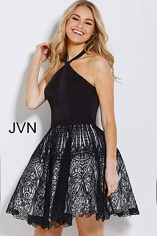 3f5fbe9fc4 Black and White Cocktail Dress – Dresses for Woman