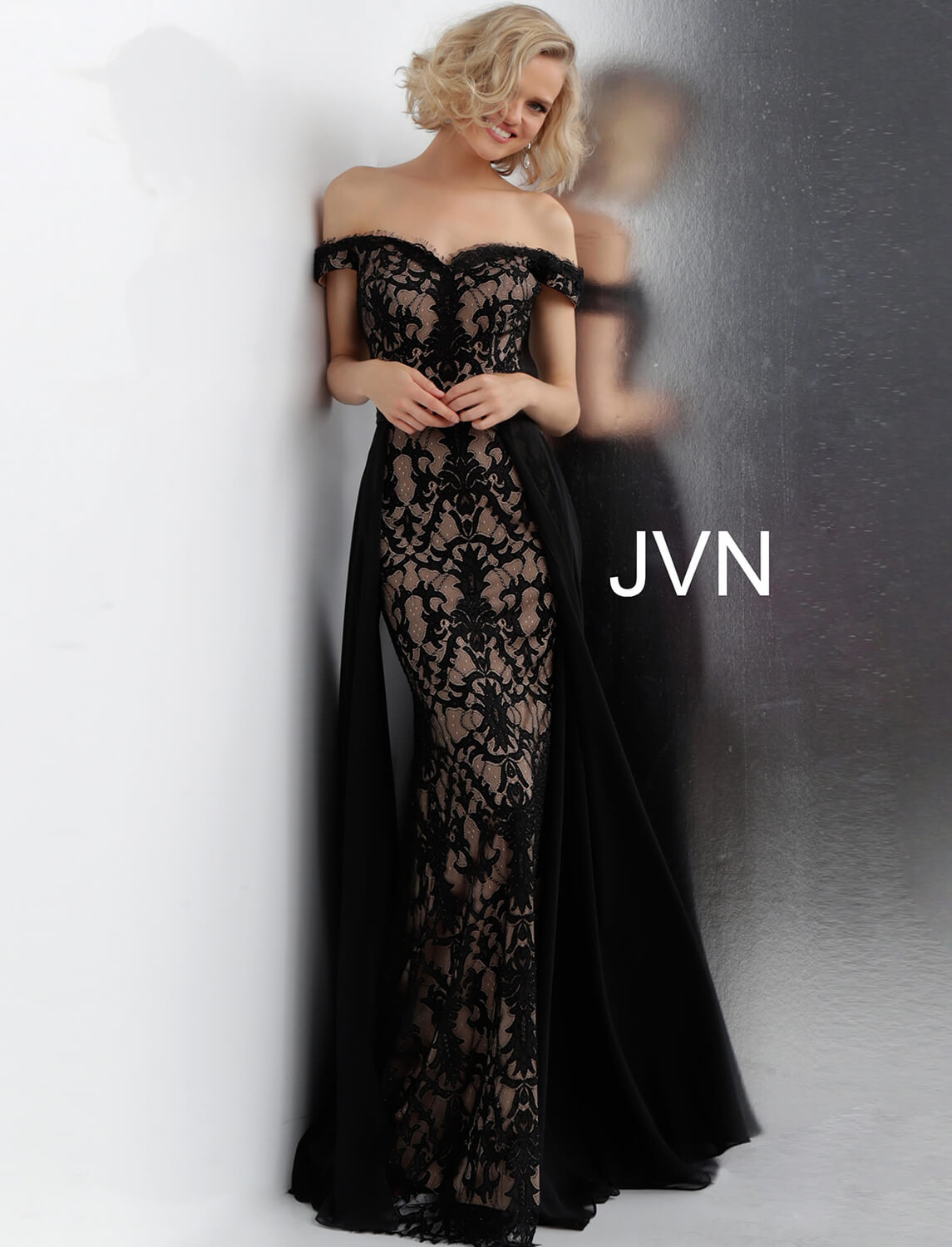 lace homecoming dresses black