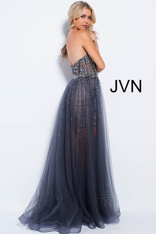Strapless Prom Dress