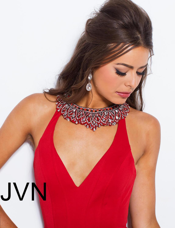 f8c8f869e67 Jordyn Black Lace Choker Mermaid Dress