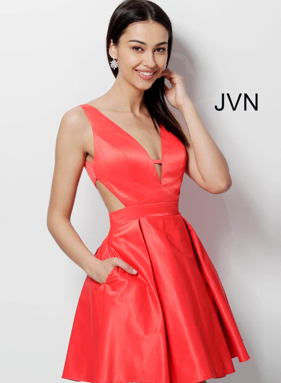 8e83a6ec9e9 Short Homecoming Dresses Red